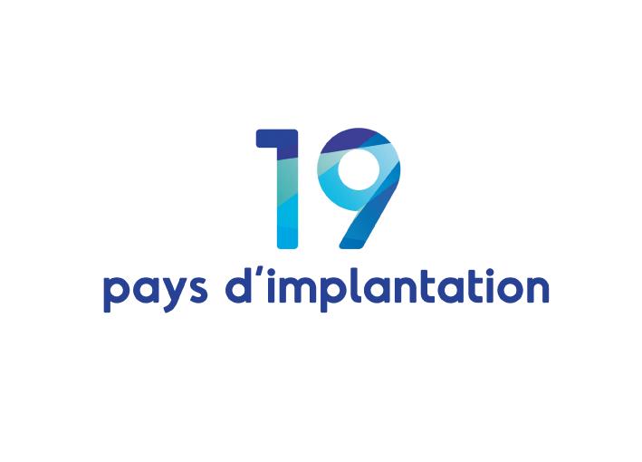 pays d'implantation